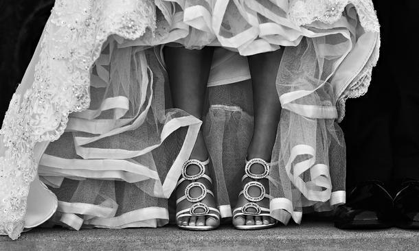 10 nietypowych par butów ślubnych
