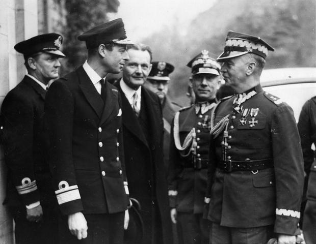 Diuk Kentu i Władysław Sikorski, Szkocja, listopad 1939 r.
