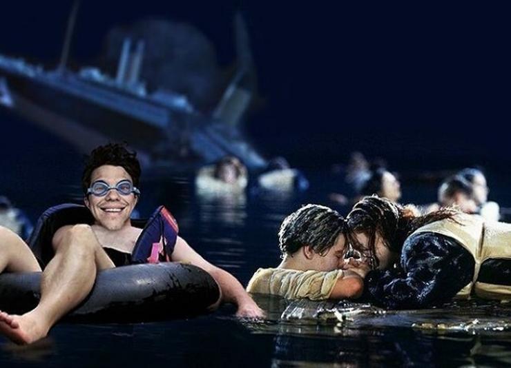 Jack és Rose mellett a Titanicban/ Fotó: Instagram