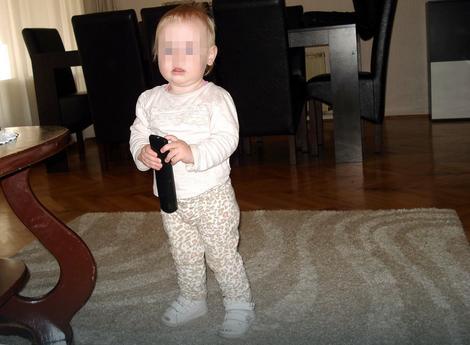 Beba Teodora posle izlaska iz bolnice