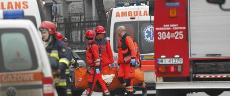 Potężna eksplozja w kamienicy w centrum Warszawy. Są ranni, budynek ewakuowano