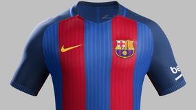 Nowe, domowe stroje FC Barcelona