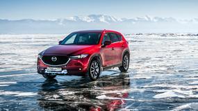 Mazda CX-5 na zamarzniętym Bajkale - epicka jazda