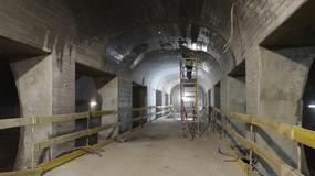 II linia metra: jest już peron pod tunelem Wisłostrady