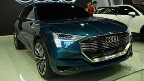 Audi E-tron Quattro Concept - elektryczny model w Polsce (Poznań 2016)