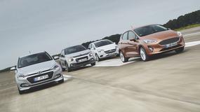 Nowy Ford Fiesta kontra Hyundai i20, Citroen C3 i Opel Corsa 1.0 Ecotec - które miejskie auto jest lepszym wyborem?