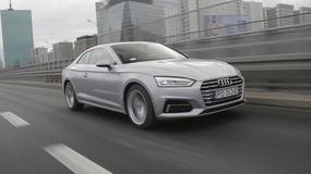 Audi A5 coupé 2.0 TDI - zachwyca prowadzeniem