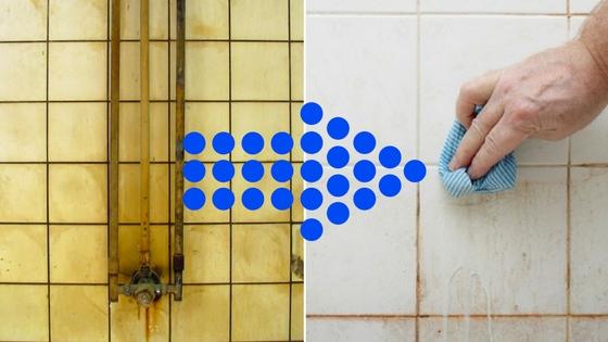 Sprzątanie łazienki Prosty Sposób Ocet I Płyn Do Mycia