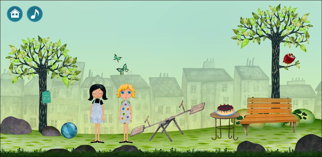 Vizuály autori hry prebrali priamo od tvorcov seriálu.