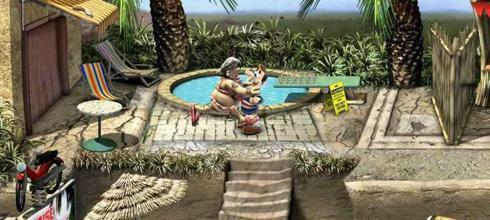 Screen z gry Sąsiedzi z Piekła Rodem: Na Wakacjach
