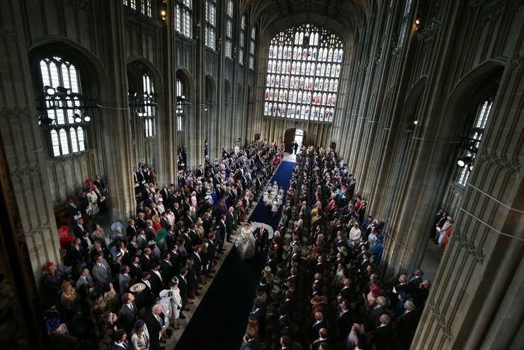 Eugénia hercegnő esküvője /  Fotó : Profimedia-Reddot