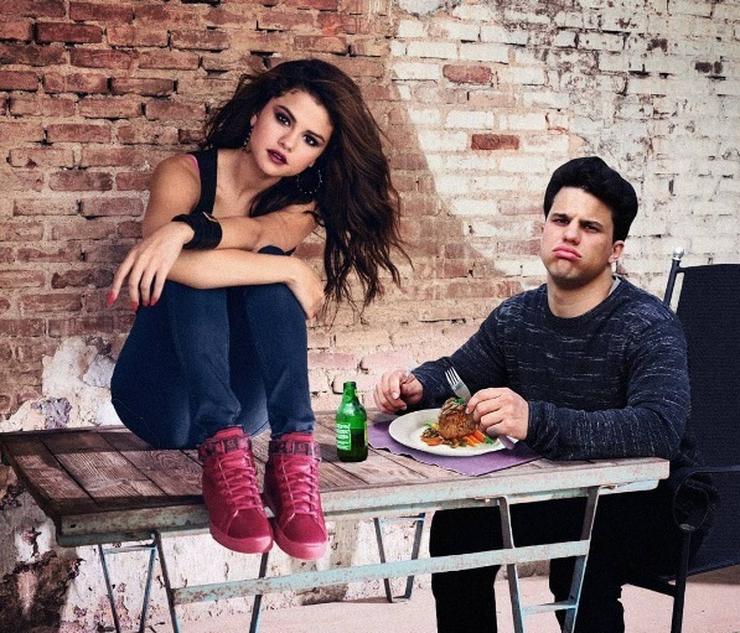 Együtt ebédelt Selena Gomezzel/ Fotó: Instagram