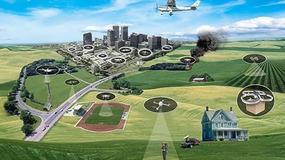 Testy systemu kontroli lotów dla dronów