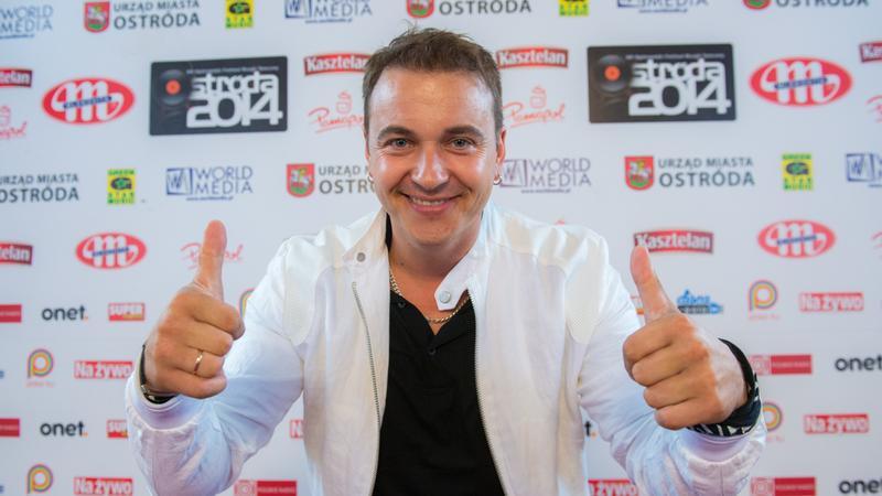 Radosław Liszewski z grupy Weekend