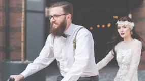Hipsterskie wesele z makramami i zielenią
