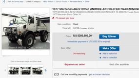 Schwarzenegger sprzedaje swojego Unimoga