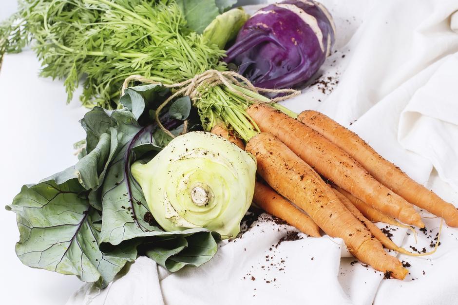 Twarde warzywa działają jak naturalna szczoteczka do zębów