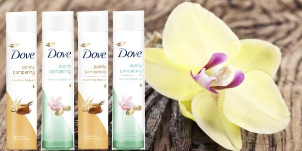 Pachnące olejki do ciała od Dove: smakowite nawilżanie