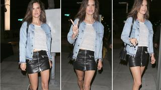 Best Look: Alessandra Ambrosio w kurtce Re/done