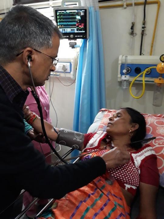 Brutális baleset ért egy indiai nőt /Fotó: Profimedia-RedDot
