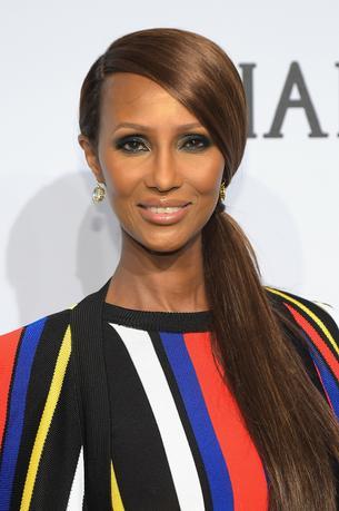 Iman radzi dojrzałym kobietom: przytyjcie pięć kilo zamiast robić Botox!