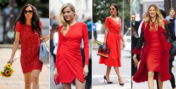 Czerwona sukienka... w sam raz na walentynki!