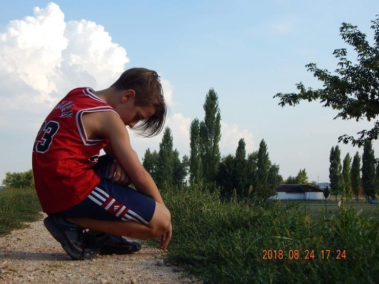 Petró Dominik kiélvezte a nyár utolsó heteit