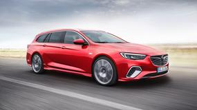 Opel Insignia GSi Sports Tourer - mocne kombi