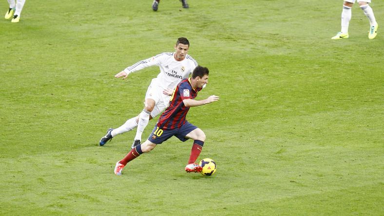 Áprilisban feszül egymásnak újra Ronaldo és Messi /Fotó: AFP