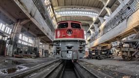 Opuszczone Poznańskie Zakłady Naprawy Taboru Kolejowego