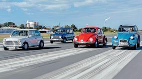Samochody dla ludu - Mini kontra Renault 4 GTL, Volkswagen 1200 L i Citroen 2 CV 6