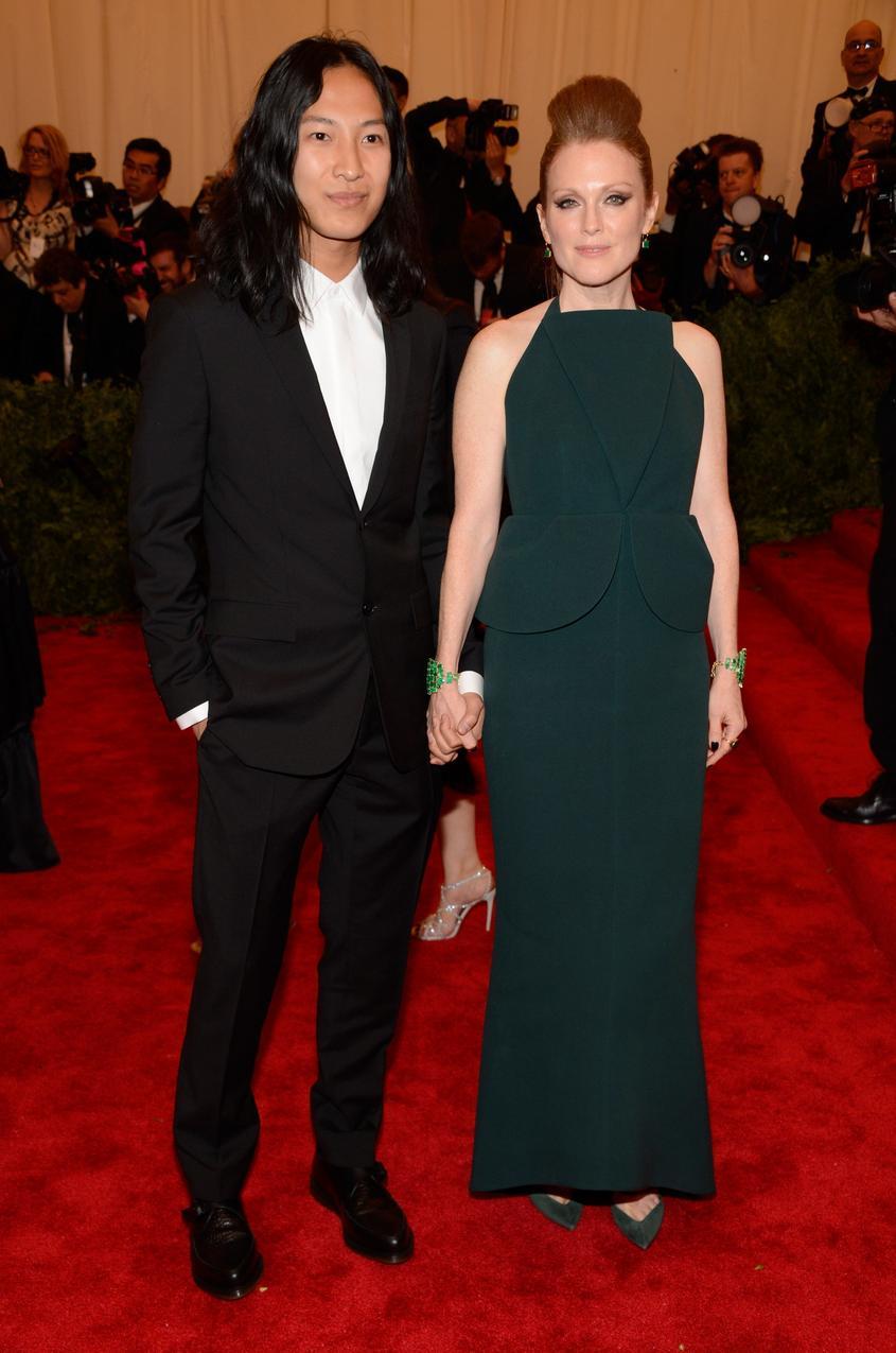 Alexander Wang i Julianne Moore