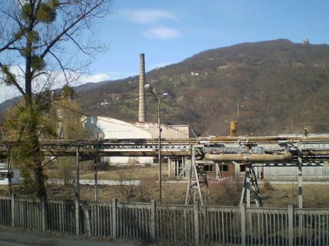 Opustela industrijska zona Maglića