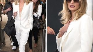 Best Look: Rosie Huntington-Whiteley w garniturze Magdy Butrym