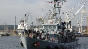ORP Mewa wrócił do Gdyni