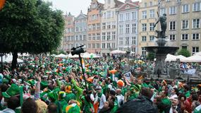 Kibice Irlandii w Gdańsku
