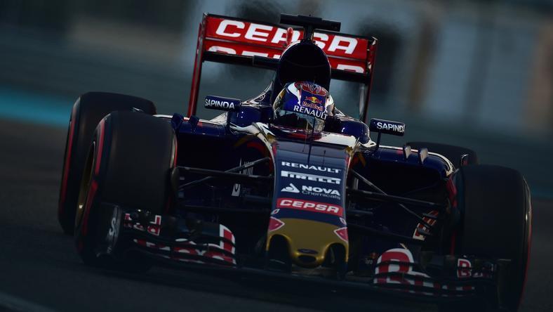 Bolid Toro Rosso