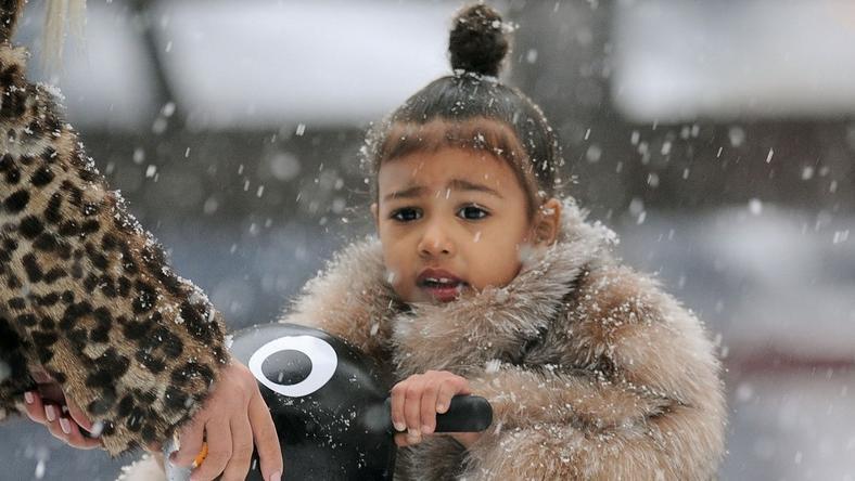 North West első lépései a jégen / Fotó: Profimedia - Reddot