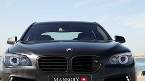 BMW serii 7 Mansory – Limuzyna ze sportowym sznytem