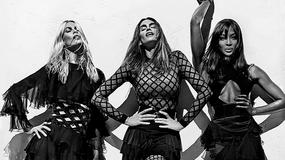 Legendarne modelki w kampanii marki Balmain