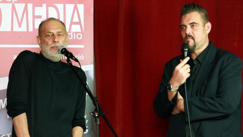 Boros Lajos Orosz György meghívására vett részt a műsorban /Fotó: Komediastudio