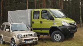 Suzuki Jimny kontra Iveco Daily 4x4: czy duży może więcej?