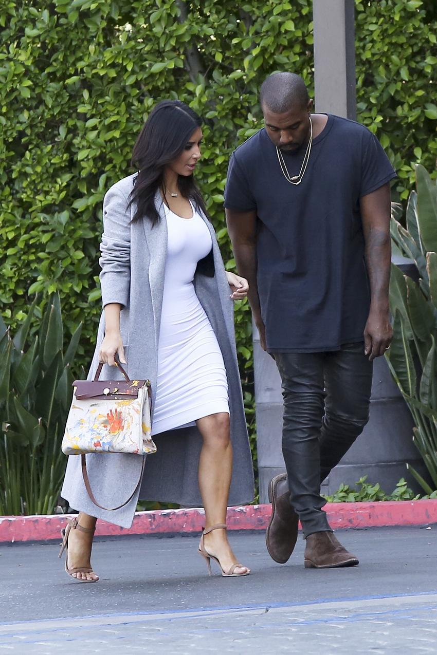 North West pomalowała torebkę Birkin na urodziny Kim Kardashian