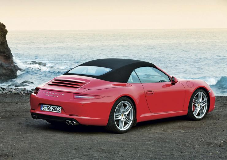 porsche 911 cabrio 911 ka ch odzona powietrzem auto wiat