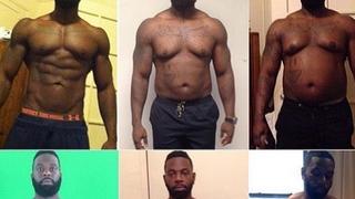 Ten trener personalny celowo przytył 32 kilogramy. Dlaczego?