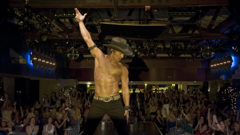 "Kadr z filmu ""Magic Mike"" (reż. Steven Soderbergh)"