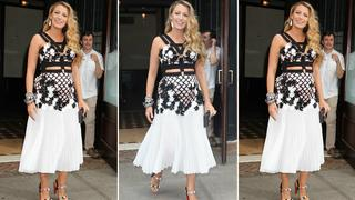 Best Look: Blake Lively w sukience Emanuel Ungaro