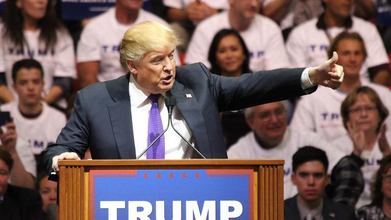 Trump jelenleg a vezető republikánus párti elnökjelölt-aspiráns. /Fotó: Northfoto