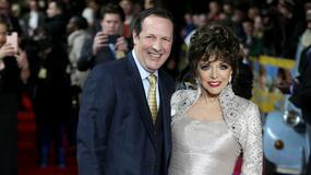 Joan Collins u boku młodszego o 32 lata męża. Różnica wieku? Niewidoczna
