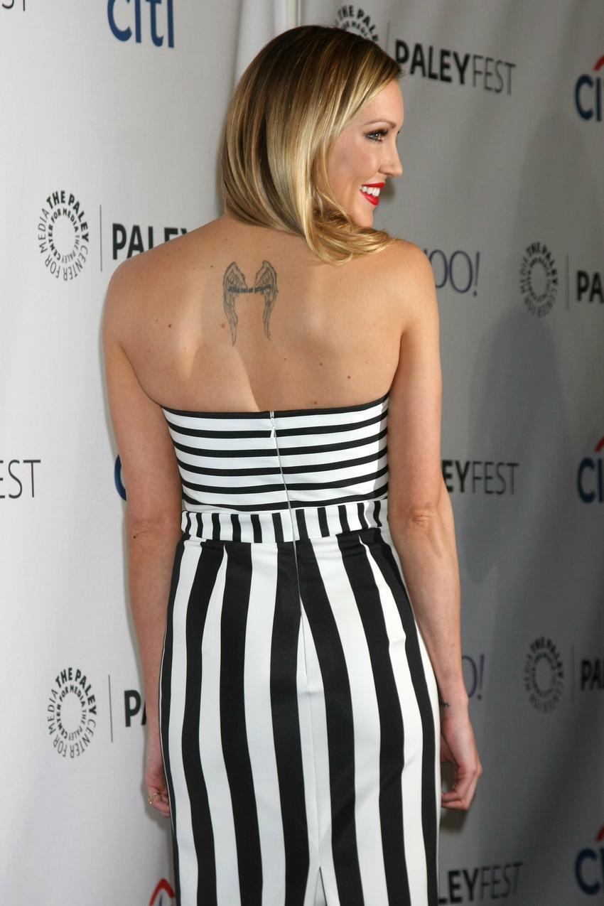 Katie Cassidy w sukni Cushnie et Ochs / fot. Bulls Press